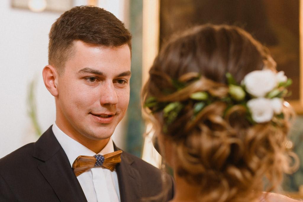 Michał + Angelika, rustykalny Ślub nad jeziorem 42