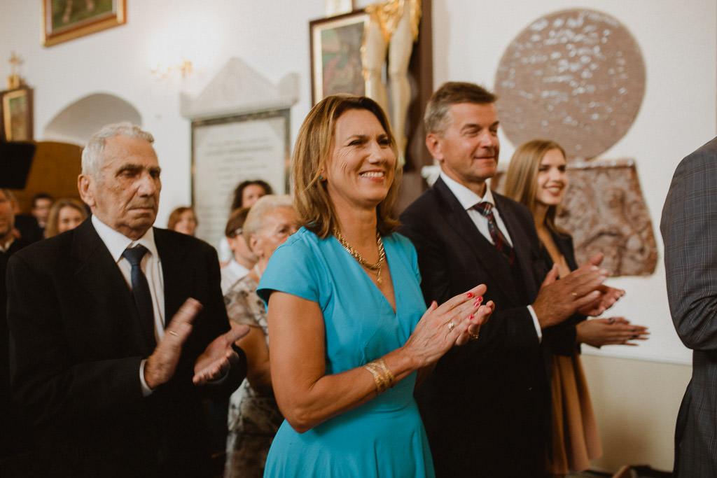 Michał + Angelika, rustykalny Ślub nad jeziorem 45
