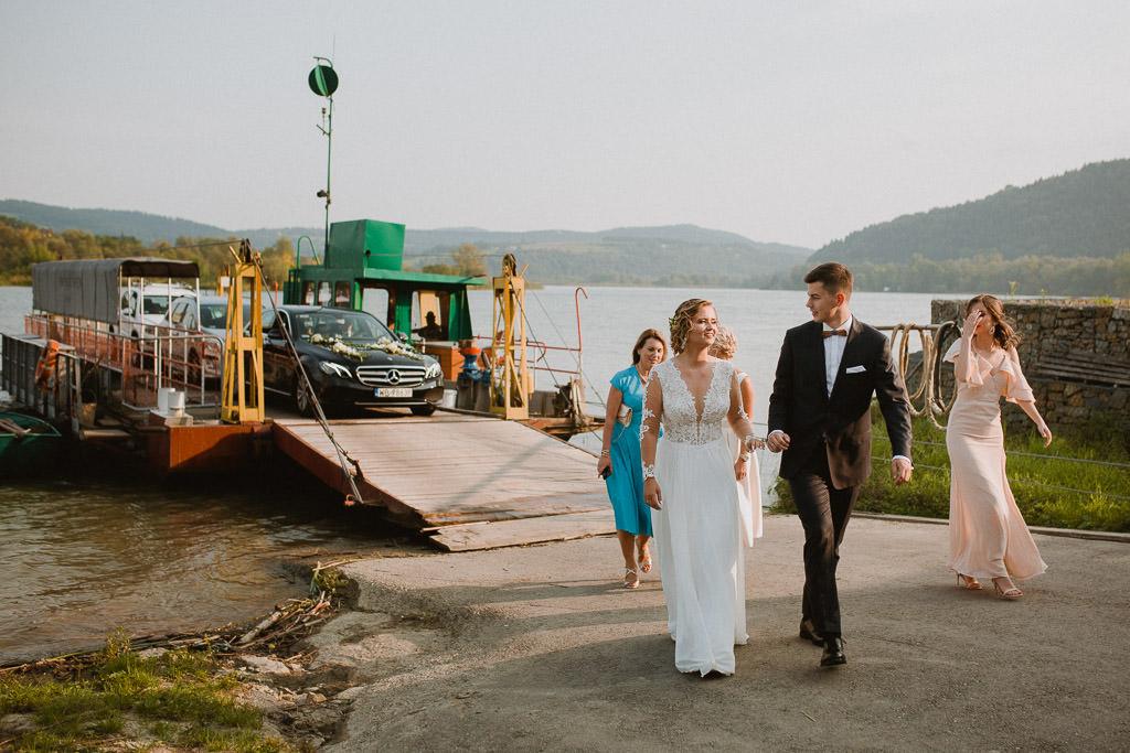 Michał + Angelika, rustykalny Ślub nad jeziorem 66