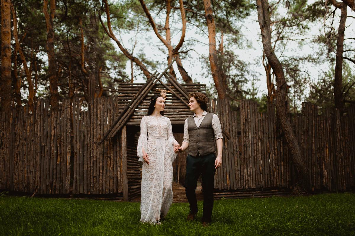 Ślub w klimacie fantasy – stylizowana sesja ślubna 43
