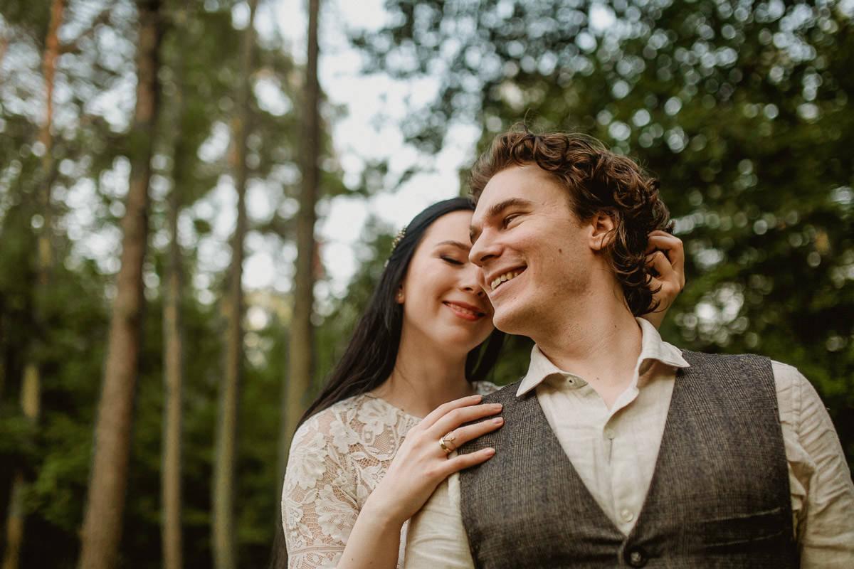 Ślub w klimacie fantasy – stylizowana sesja ślubna 48