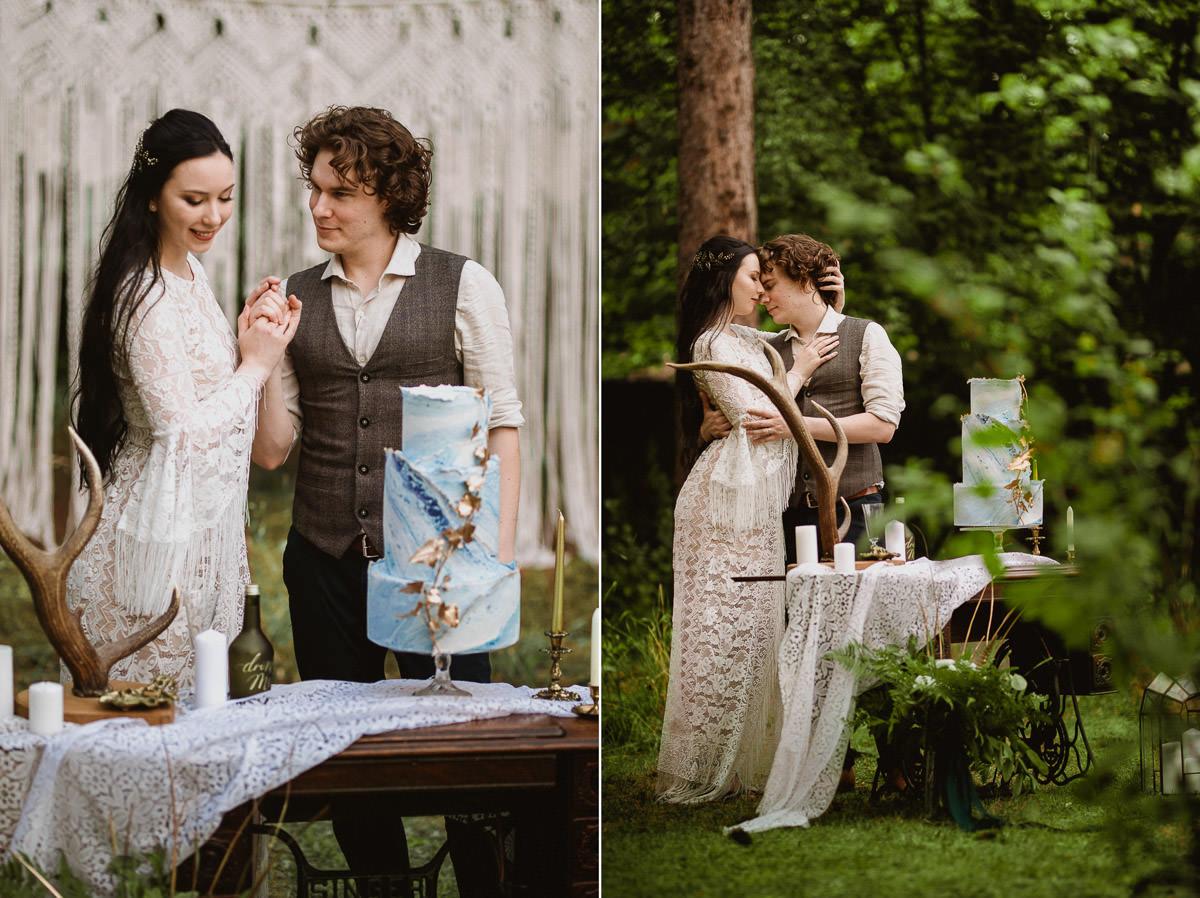 Ślub w klimacie fantasy – stylizowana sesja ślubna 53