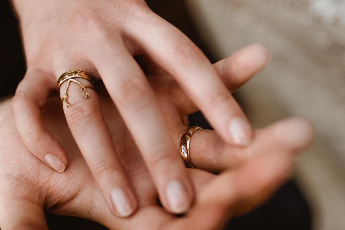 Ślub w klimacie fantasy – stylizowana sesja ślubna 54