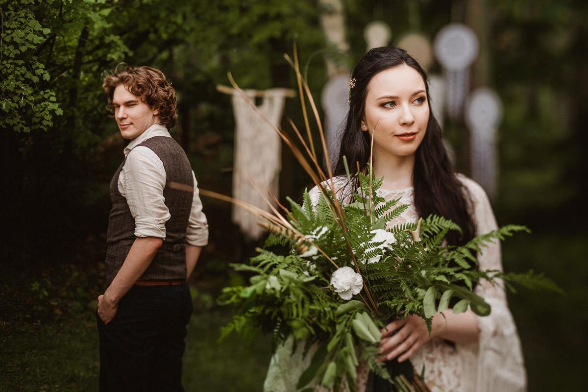 Ślub w klimacie fantasy – stylizowana sesja ślubna 65