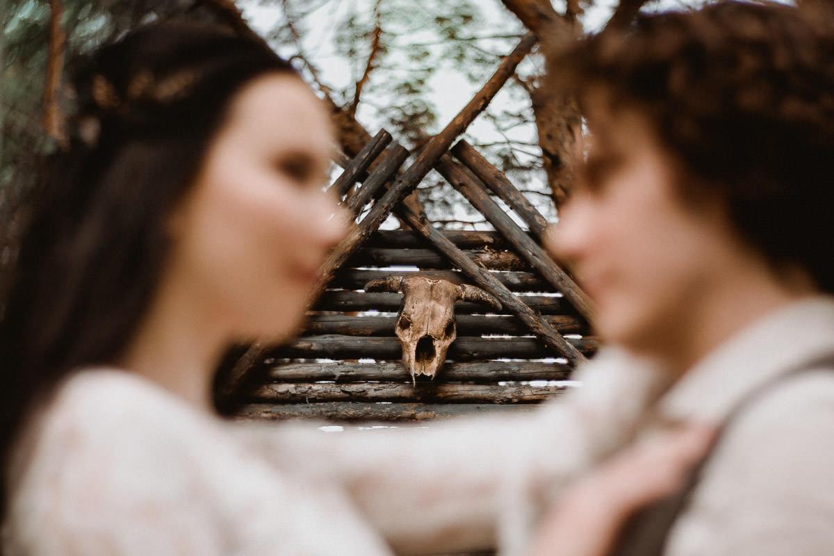 Ślub w klimacie fantasy – stylizowana sesja ślubna 39