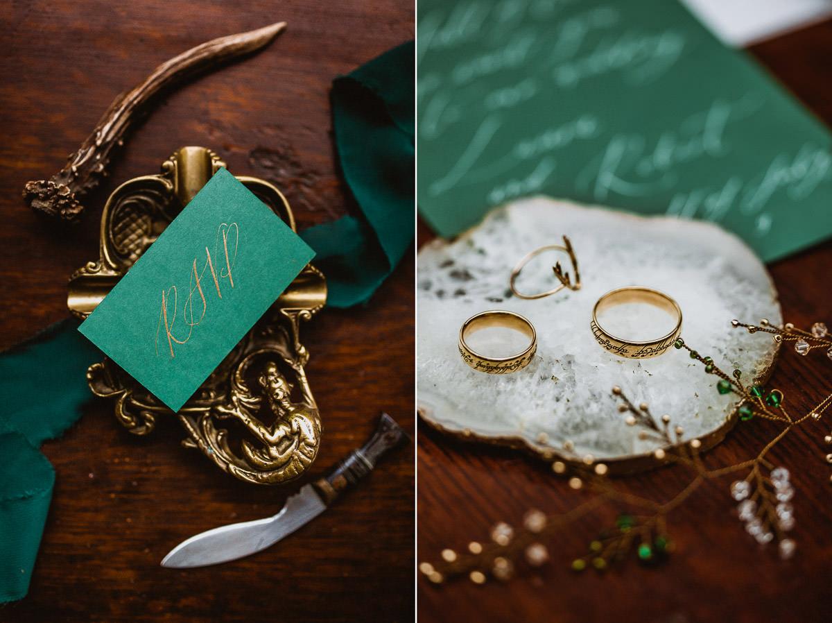 Ślub w klimacie fantasy – stylizowana sesja ślubna 40