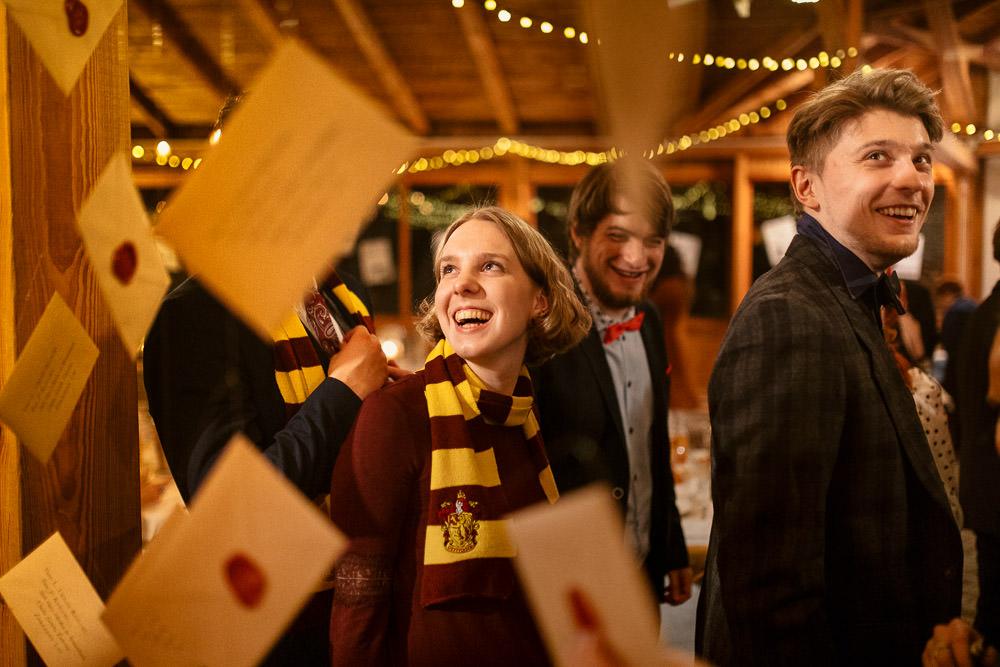 L+P, Ślub w stylu Harry Potter, Górki Zielone Wesele Harry Potter 28