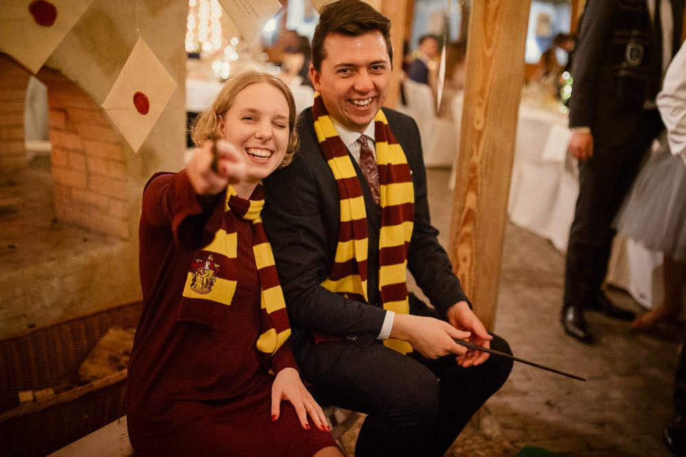L+P, Ślub w stylu Harry Potter, Górki Zielone Wesele Harry Potter 52