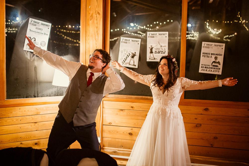 L+P, Ślub w stylu Harry Potter, Górki Zielone Wesele Harry Potter 66