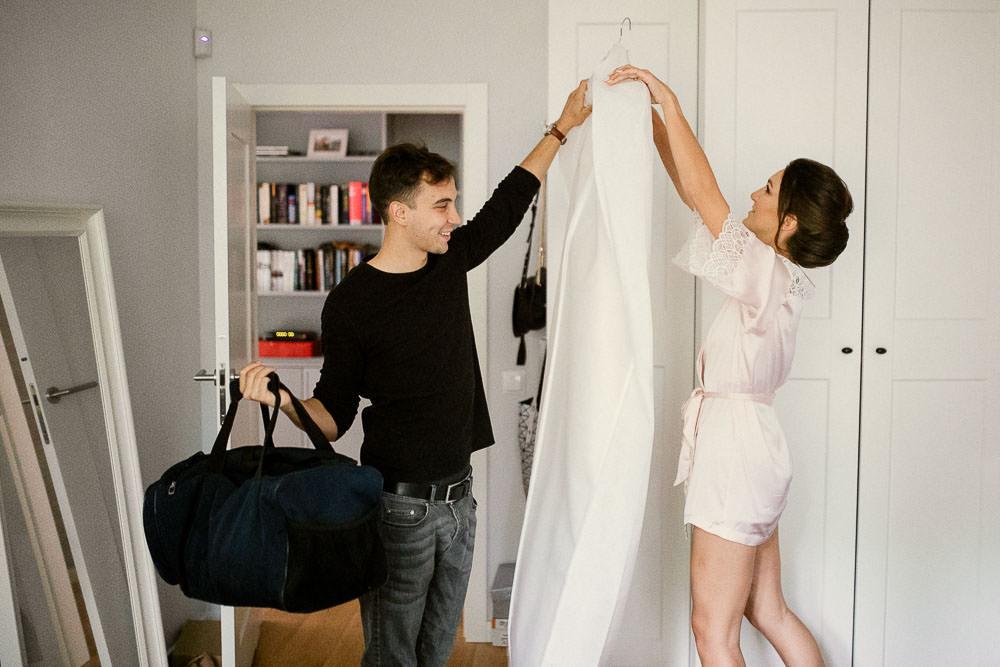 A+T, ślub z motywem podróży, Osada Młyńska, wesele w stylu podróżniczym 70