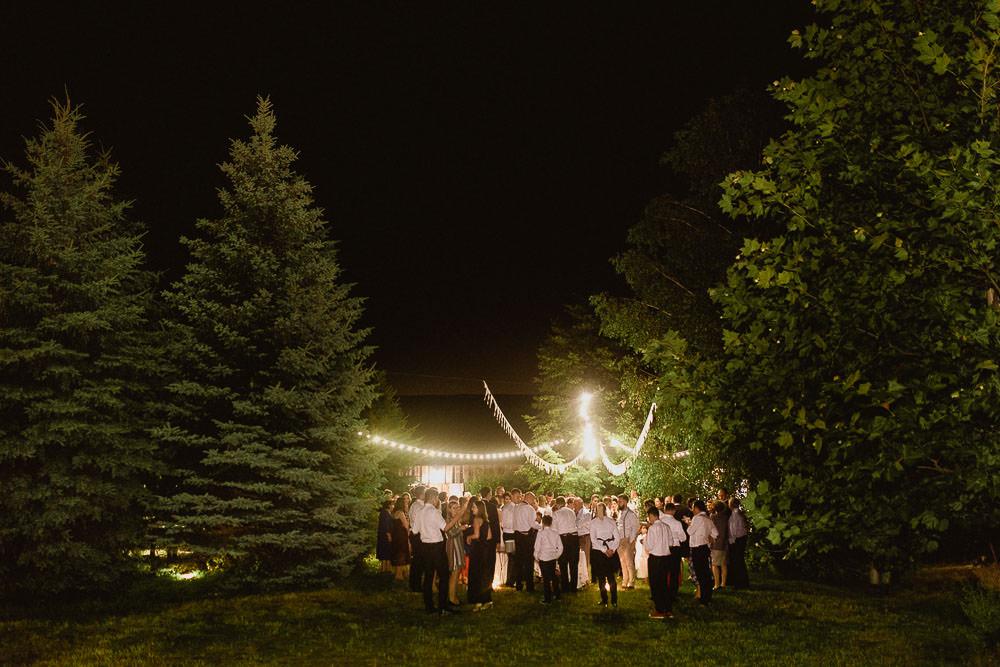 osada mlynska ślub z motywem podróży