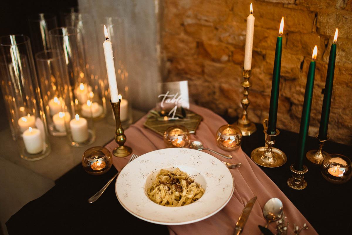 talerzyk obiad weselny